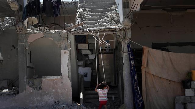 Gaza ruins (Photo: AP)