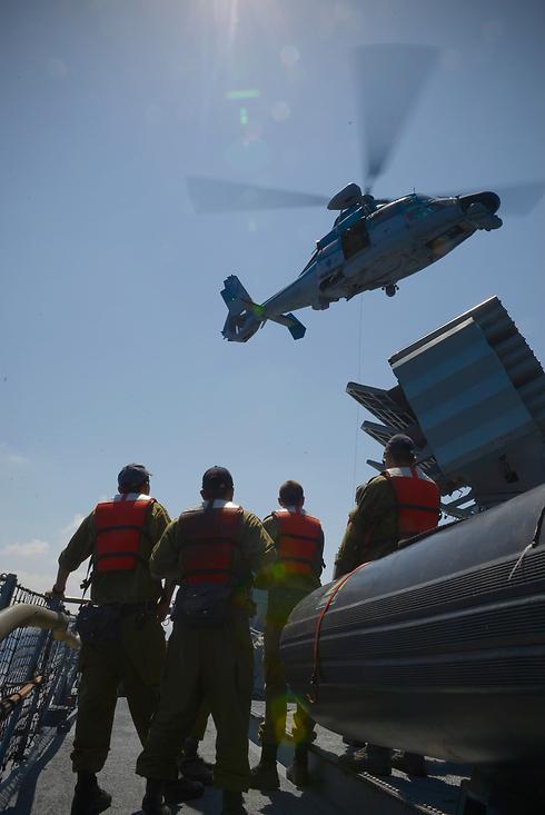 Naval exercise (Photo: IDF Spokesman's Office)