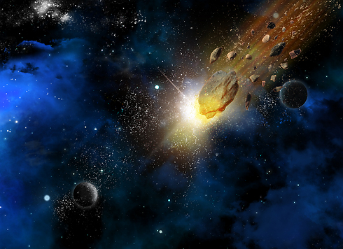 אסטרואיד עשוי לשמש תחנת ביניים בדרך לכוכבים אחרים (צילום: shutterstock)