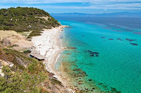 חלקידיקי. חופים מדהימים במרחק נסיעה קצרה מסלוניקי (צילום קשרי תעופה) (צילום קשרי תעופה)