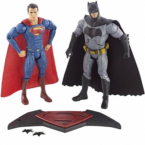 והנה הצד הגברי. באטמן וסופרמן המעודכנים והנכונים ()
