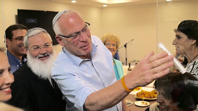 Minister Uri Ariel (Photo: Moti Kimchi)