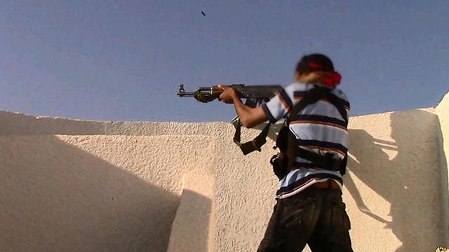 Islamic State fighter in Sinai desert