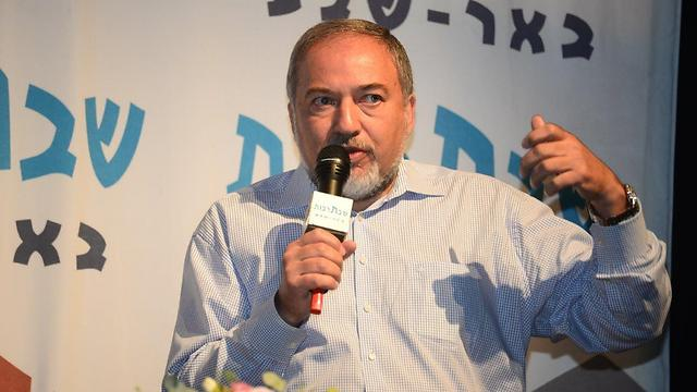 Lieberman, the new 'Mr. Security' (Photo: Herzl Yosef) (Photo: Herzl Yosef)