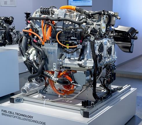 מנוע התא-דלק (מימן) של ב.מ.וו - בשיתוף טויוטה