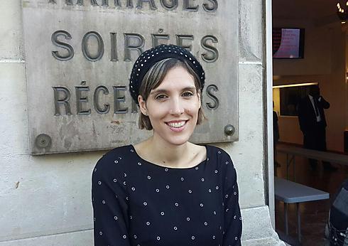 Anael Shmueli, representative of national service programs at the Masa conference (Phote: Roi Yanovsky)