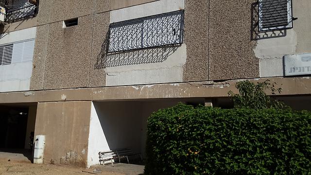בית משפחת מנגיסטו באשקלון (צילום: רועי עידן) (צילום: רועי עידן)