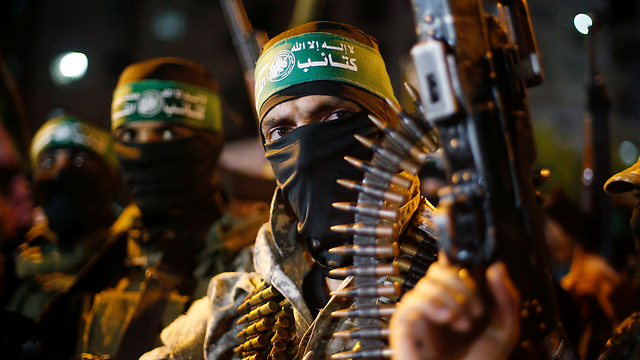 Hamas militants—they don't consider themselves terrorists. (File photo: Reuters)