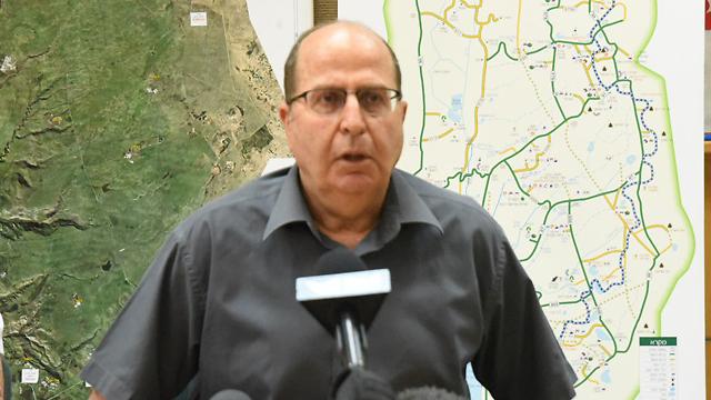 Defense Minister Moshe Ya'alon (Avihu Shapira)