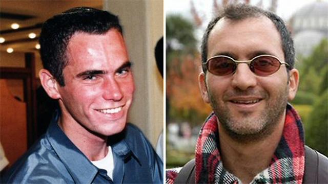 Eldad Regev and Ehud Goldwasser (Photo: AFP)