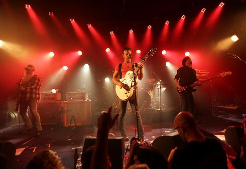 Eagles of Death Metal's concert in Tel Aviv in July (Photo: Yaron Brener)