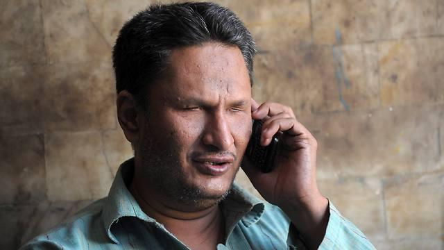 """""""בבית עודדו אותי"""" (צילום: AFP) (צילום: AFP)"""