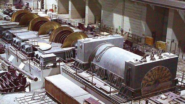 גם השני ייבנה בעזרת הרוסים. הכור הראשון בבושהר (צילום: EPA) (צילום: EPA)