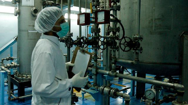 Inside an Iranian nuclear facility (File photo: EPA) (Photo: EPA)