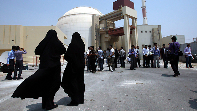 Iranian nuclear reactor in Bushehr  (Photo: EPA)