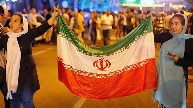 Celebrations in Teheran (Photo: EPA)