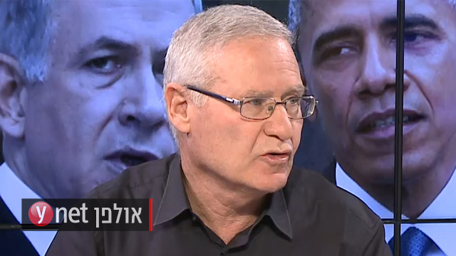 Amos Yadlin in Ynet's studio (Photo: Avi Chai and Nir Cohen)