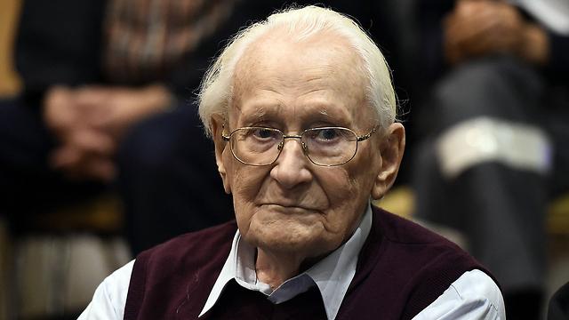 Former Nazi SS guard Oskar Groening, at court (Photo: AFP)