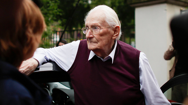 Oskar Groening, defendant and former Nazi SS officer dubbed the 'bookkeeper of Auschwitz' (Photo: AP) (Photo: AP)