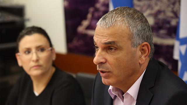 Finance Minister Kahlon. (Photo: Gil Yohanan) (Photo: Gil Yohanan)