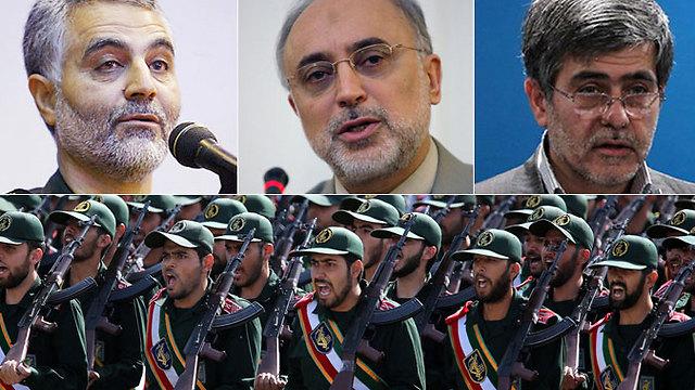 Iran's Revolutionary Guards officials (Photo: AFP, EPA, Reuters)