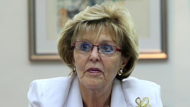 """השופטת בדימוס עדנה ארבל. יו""""ר הוועדה (צילום: גיל יוחנן) (צילום: גיל יוחנן)"""