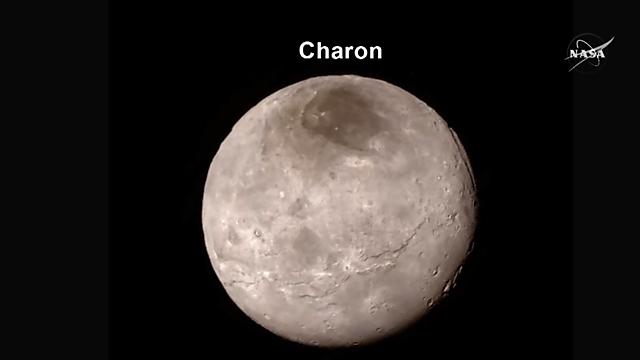 """הירח כארון (צילום: נאס""""א)"""