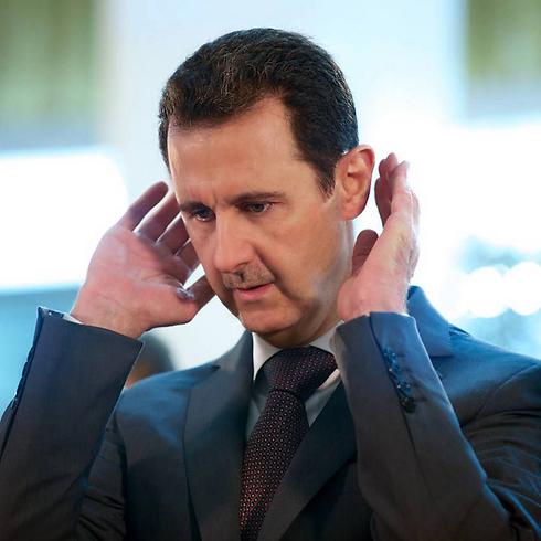 Syrian President Bashar Assad. Khamenei swore on Saturday, 'We will not abandon our friend in the region' (Photo: AFP)