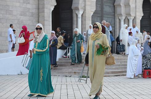 לא לפוליגמיה. תוניסיה (צילום: AFP) (צילום: AFP)