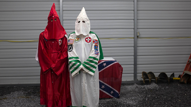 The Ku Klux Klan. Cross is a former senior member. (Photo: Reuters)