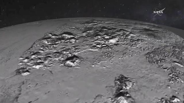 כוכב פלוטו בתמונה חדשה, שפורסמה הערב (צילום: NASA)