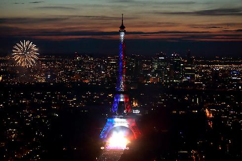 חגיגות יום הבסטיליה בפריז (צילום: רויטרס) (צילום: רויטרס)