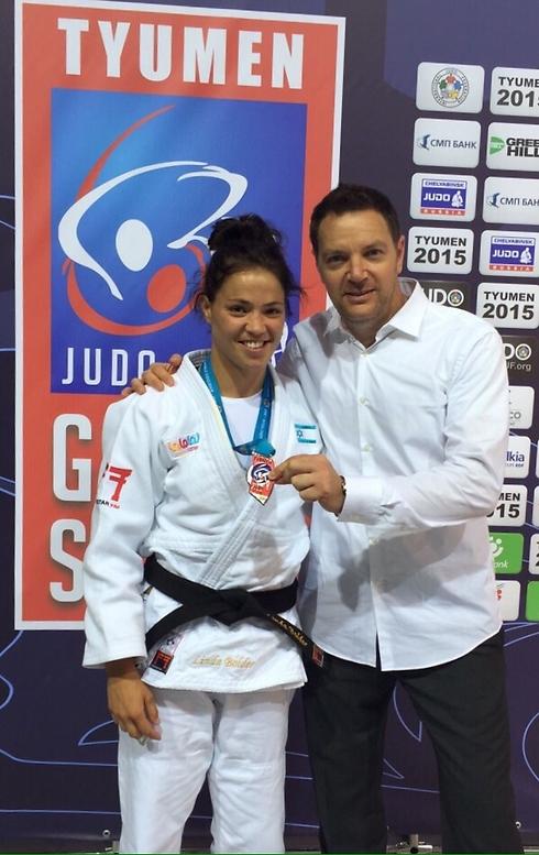 זכתה בתחרויות בינלאומיות כשייצגה את ישראל (צילום: באדיבות איגוד הג'ודו) (צילום: באדיבות איגוד הג'ודו)