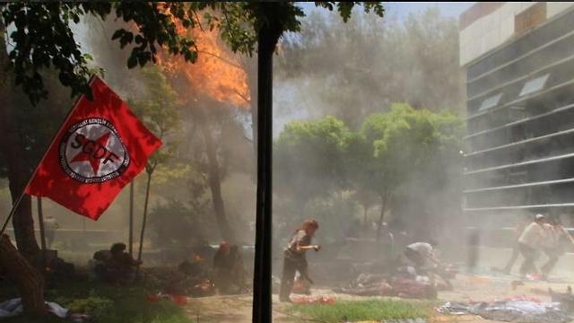 הפיגוע בעיר סורוץ', שמאחוריו עמד דאעש, הוביל להתערבות הטורקית בסוריה