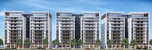 הדמיית הפרויקט החדש. החל מ-1.8 מיליון שקלים לדירות 4 חדרים (הדמיה: R creative) (הדמיה: R creative)