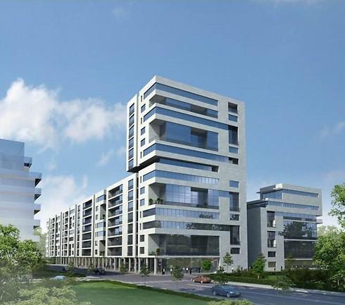 הדמיית הפרויקט שאושר. קרוב ל-400 דירות חדשות (הדמיה: גוגנהייים בלוך אדריכלים ומתכנני ערים) (הדמיה: גוגנהייים בלוך אדריכלים ומתכנני ערים)