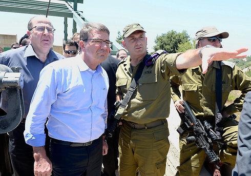 US Defense Secretary Ashton Carter on a visit to Israel (Photo: US Embassy)