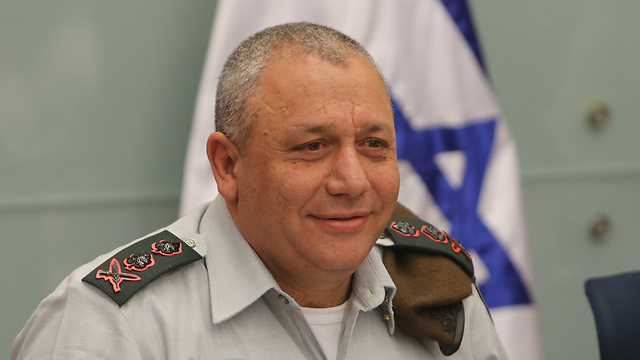 IDF chief Eisenkot (Photo: Alex Kolomoisky)