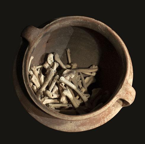 שרידים מאתר מרשה. עדויות לתעשייה בת 2,300 שנה (צילום: החוג לארכיאולוגיה אוניברסיטת חיפה)