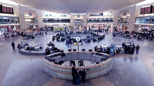 Ben Gurion International Airport (Photo: Shutterstock)