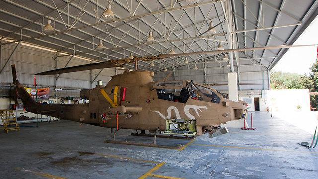 A Cobra helicopter in Israel. (Photo: Tal Shahar) (Photo: Tal Shahar)