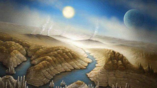 הדמיה של פני הקרקע בכוכב
