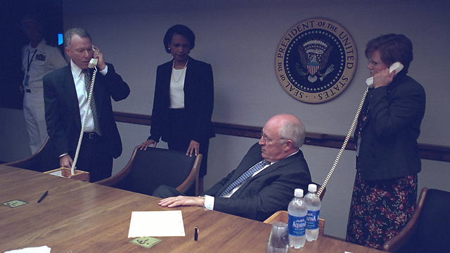Cheney in the presidential bunker (Photo:Reuters)