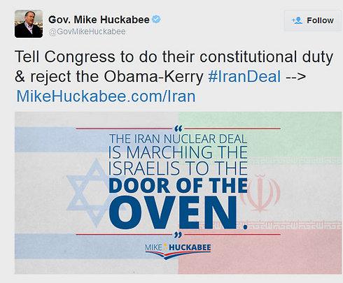 Huckabee's tweet