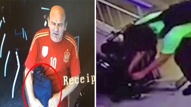 מימין: גנב האופניים של דן רימי. משמאל: התיק של אלון ביטון ()