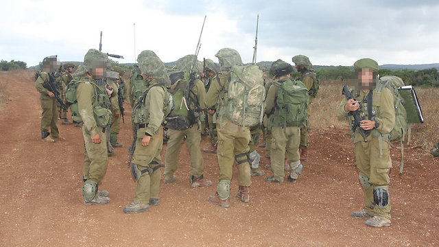 IDF soldiers in training (Photo: George Ginsberg)