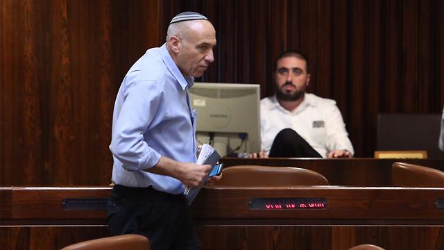 חבר הכנסת מוטי יוגב, יוזם ההצעה (צילום: גיל יוחנן) (צילום: גיל יוחנן)
