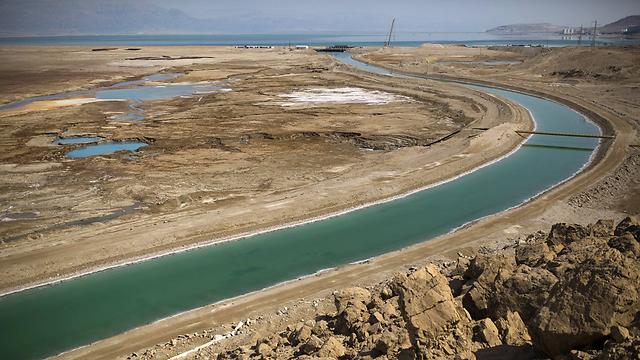 מקורות ים המלח הוסטו במשך שנים (צילום: רויטרס) (צילום: רויטרס)