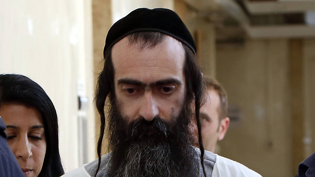 Yishai Shlissel, perpetrator of the stabbing at the Jerusalem pride parade (Photo: AFP)