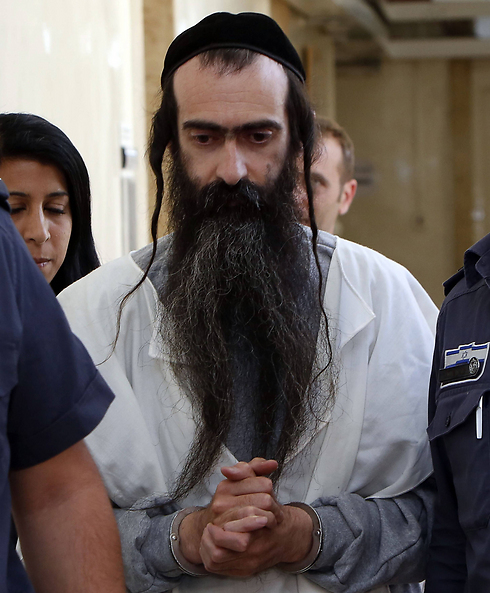Yishai Shlissel, perpetrator of stabbing attack on Jerusalem's gay pride parade (Photo: AFP) (Photo: AFP)